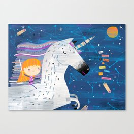 She Needed a Hero Canvas Print