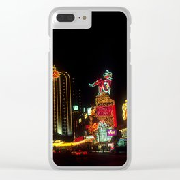 Las Vegas Lights Clear iPhone Case