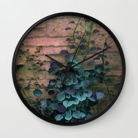 silent hill Wall Clocks featuring Silent  by KunstFabrik_StaticMovement Manu Jobst