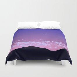 SW Mountain Sunrise - I Duvet Cover