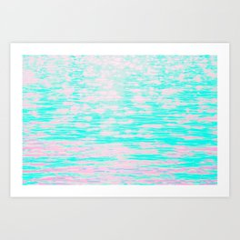 *arpeggiated ambient synth playing* Art Print