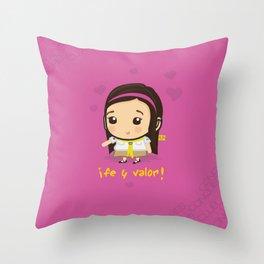 Conquistadora Throw Pillow