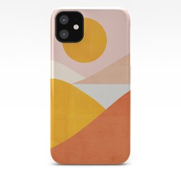 Abstraction_Mountains iPhone Case