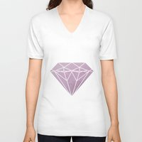 flawless V-neck T-shirts featuring Flawless by IndigoEleven