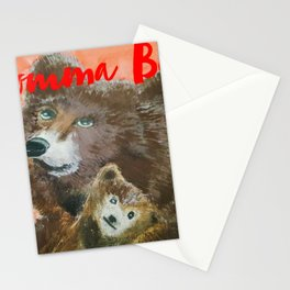 momma bear Stationery Cards