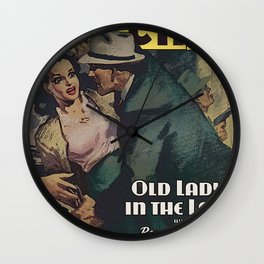 Private Detective Stories - November 1944 Wall Clock