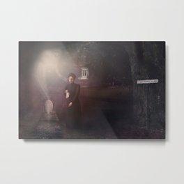 Autumn Song - Ghostly Self Tableau Metal Print