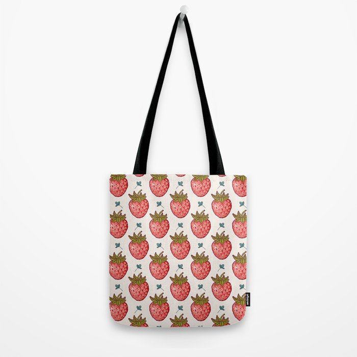 strawberry fields Tote Bag