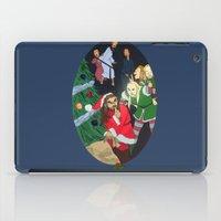 thorin iPad Cases featuring Santa Thorin by Lauren Ashizawa