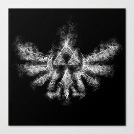 Triforce Smoke Canvas Print