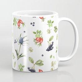 rosehip, chokeberries and teasel II Coffee Mug