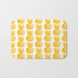 Pineapple Brunch  Bath Mat