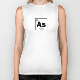 Arsenic chemical element Biker Tank