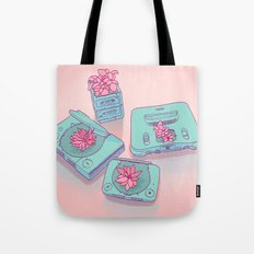 Flowers & Consoles Tote Bag