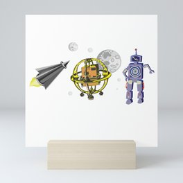 Invasion! Mini Art Print