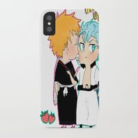 bleach iPhone & iPod Cases featuring BLEACH GrimmIchi by PrincessBBree