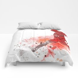 Soccer Player 1 Comforters