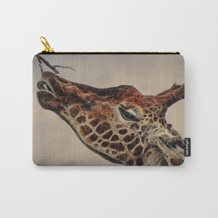 Giraffa camelopardalis Carry-All Pouch