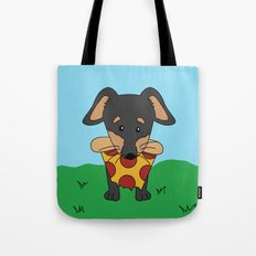 Paco Love Pizza Tote Bag