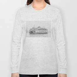 The Boat (Staten Island Ferry) Long Sleeve T-shirt