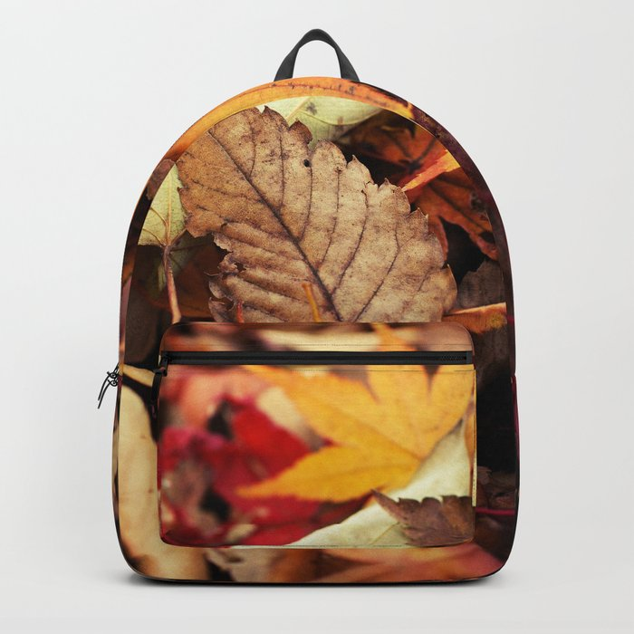 Indian Summer - Colorful Autumn Leaves Backpack