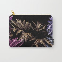 Blackberry Leaves Colorful Carry-All Pouch