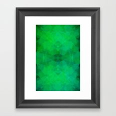 Green#1 Framed Art Print