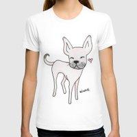 minnie T-shirts featuring Minnie by Daynasdoodleydoos