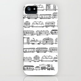 Marco's train - Black iPhone Case