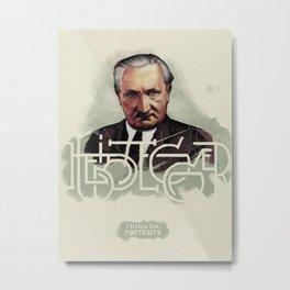 Heidegger Portrait Metal Print