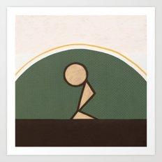 The Soul's Sincere Desire Art Print
