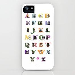 Alphabuddies iPhone Case