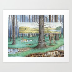 Arbor Day Parade Art Print