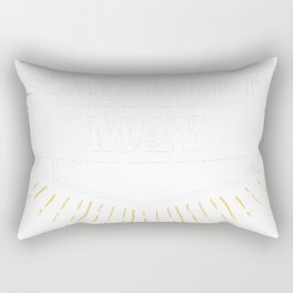 Queens are born in May Rectangular Pillow