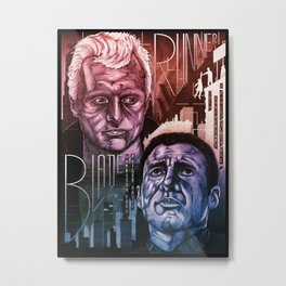 Blade Runner 30th anniversary Metal Print