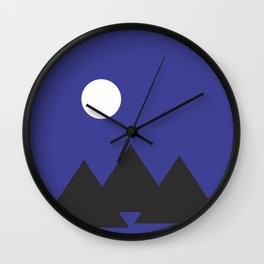 Giza Geometrical Minimal Wall Clock