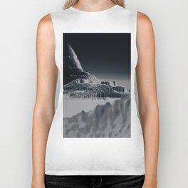 Mountain landscape illustration painting Biker Tank