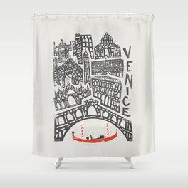 Venice Cityscape Shower Curtain
