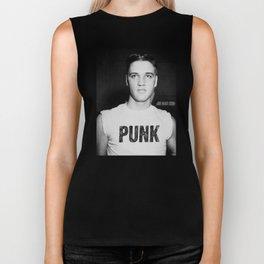 Elvis is a Punk Biker Tank