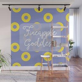 Fineapple Goddess Wall Mural
