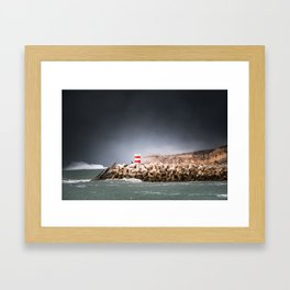 Just Nazaré. Part I Framed Art Print