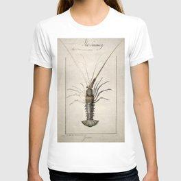 Vintage Lobster Artwork T-shirt