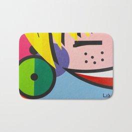 Little Blondie - Paint Bath Mat