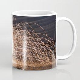 Woolspinning at the Beach Coffee Mug