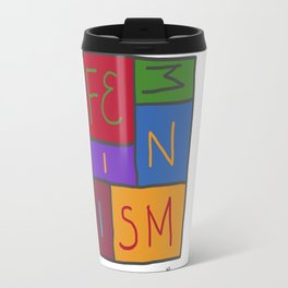 Intersectional Feminism In Colour Travel Mug