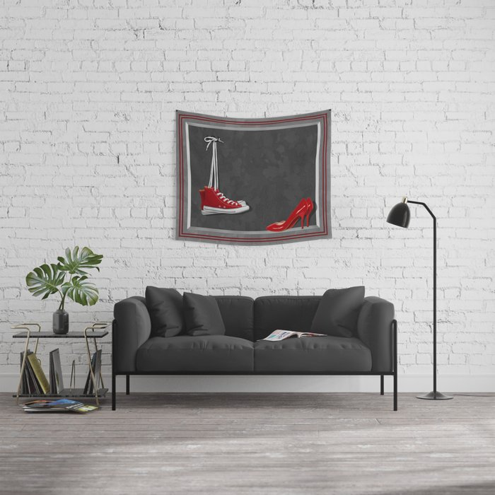 Shoes for every occasion Wall Tapestry