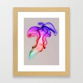 Smoke Compositions III Framed Art Print