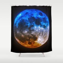 Magical Full Moon Shower Curtain