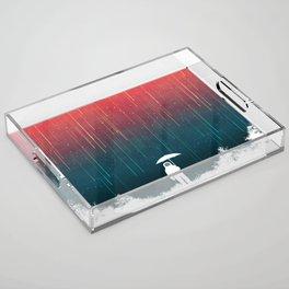 Meteoric rainfall Acrylic Tray