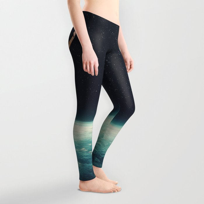 Returning to Earth with a will to Change Leggings